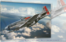 """P-51D Mustang """"Cripes A' Mighty"""" 328th FS 352nd FG- Aviation Art Canvas print"""