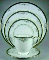 Noritake pattern  #3763  Ontario Five- Piece Place Setting  New! (3 available)