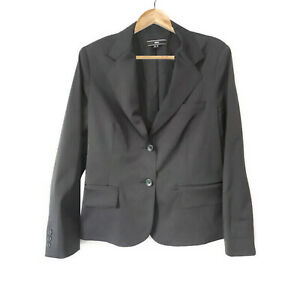MNG Womens Business Blazer Suit Jacket Mid Length US 10 EU 42