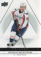 2013-14 Upper Deck Trilogy Hockey #98 Nicklas Backstrom Washington Capitals