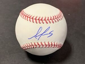 Alex Reyes St Louis Cardinals Autographed Signed Baseball IMPERFECT .