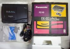 3DO REAL Console System FZ-10 Panasonic Tested JAPAN w/Controllers Exc
