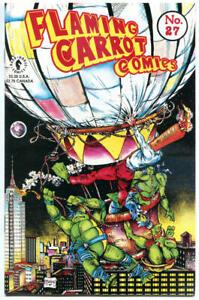 FLAMING CARROT #27, NM, Burden, Teenage Mutant Ninja Turtles, Todd McFarlane