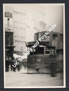 Photograph Of Steam Tram In High Street Dundee Circa 1890s/1900s See Scans