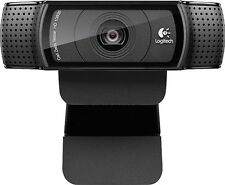 Logitech - C920 HD Pro Webcam Full 1080p high definition- Black