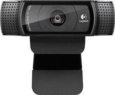 Logitech - C920 HD Pro Webcam Full 1080p high definition- Black