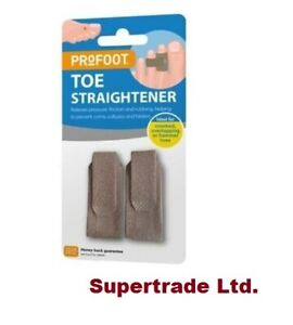 PROFOOT Toe Straight Straightener Ideal For Crooked Overlapping Or Hammer Toes