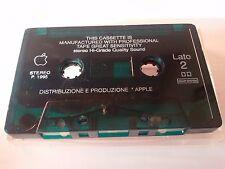 APPLE Original 1995 VINTAGE COMPACT Audio Data CASSETTE Very rare USED Collector