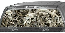 Buck Skull Obliteration Camo Rear Window Graphics Decals Truck Vinyl Wrap