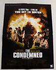 Steve Austin The Condemned Movie Poster 16x21 Wrestler WWE WWF Drink Beer