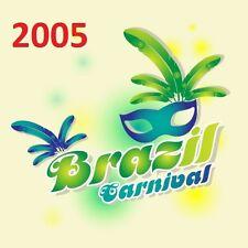 BRAZIL Rio CARNIVAL CARNAVAL 2005 - 14 DVD - Complete Parade