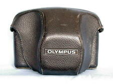 OLYMPUS FTL GENUINE BLACK LEATHER CAMERA BODY CASE