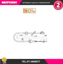 49210-G Cavo frizione Fiat Multipla (186) 1.9 JTD 110 03.01> (COFLE)