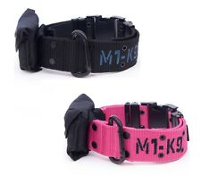 M1 K9 Adjustable Collar for Dogs - 2 sizes 2 Colors - Ultimate Large Breed Dog