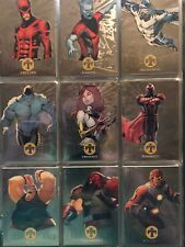 2018 Marvel Fleer Ultra X-Men SILVER METAL Blaster 49-card set