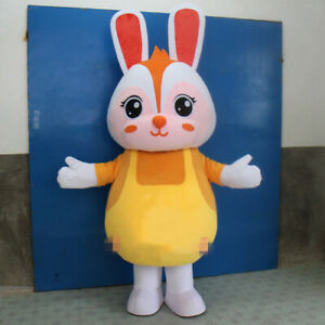Rabbit Mascot Costume Suits Cosplay Party Game Outfits Clothing Advertising TOP
