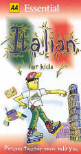 AA Essential Italian for Kids: Phrases Teacher Never Told You (AA Essential Phra