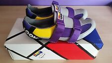 Look Vintage Retro NOS NEW Bike Cycling Shoes size 7 Eroica purple gray