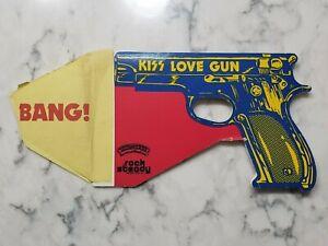 Vintage 1977 KISS Love Gun Album Insert