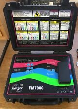 Ranger PM7000S Power Quality Analyzer, Harmonics, Flicker, and Waveform Monitor