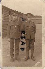 WW1 Soldier Group Royal Fusiliers inc 18467 ? Pte Harry Johnson Clipstone Camp ?