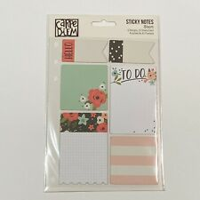 Simple Stories Carpe Diem Bloom Planner Accessories Floral Sticky Notes 7948 New
