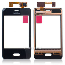 Nokia Asha 501 Digitizer Touch Screen Display Glass Lens Replacement N501 +tools