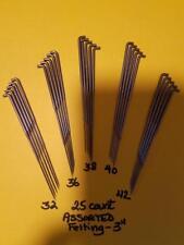 """25- 3"""" FELTING NEEDLES-5 EACH-32-36-38-40-42 Fits Mushroom tools"""
