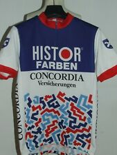 Shirt Bike Maillot Cycling Team Histor Farben Concorde Test Size XL