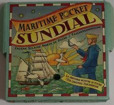 Maritime Pocket Sundial Authentic Models Ms019A Excellent Pre-Owned