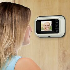 Digital Door Peephole Camera Zoom in or Zoom Out 3x Clear Vision High Tech NEW