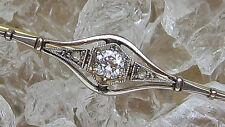 Love It 🎁 ✨ 0,15 Ct. ✨ diamants en or Broche Avec Diamant brooch with Diamond