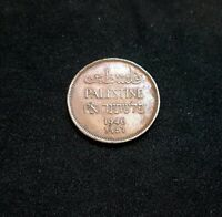 1 Mil Coin 1946 Palestinian Coins Mils Jerusalem British Palestine Israel RARE