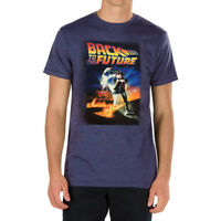 Back To The Future Marty McFly DeLorean Time Travel Men's T-Shirt - Black