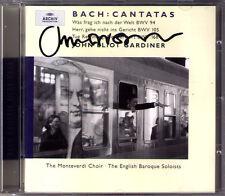 John Eliot GARDINER Signiert BACH Cantata BWV 94 105 168 9th Trinity Sunday CD