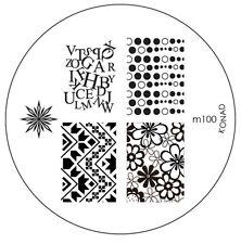 Konad stamping stencil m100 NAILART NUOVO