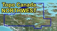 Garmin Topo Canada v4 Northwest Territories, Yukon map
