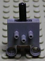 LEGO Technik - Pneumatik Schalter dunkelgrau / Pneumatic Switch 4694bc01 NEUWARE