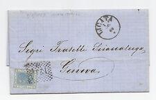 H621-SICILIA-LICATA SU 20 CENT VITT.EM.II° 1869