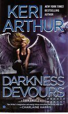 Keri Arthur  Darkness Devours      Dark Angels  Paranormal Romance  Pbk NEW