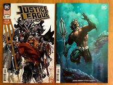 Justice League 10 2018 Manapul Enhanced Foil + Jim Lee Variant Set DC Comics NM+