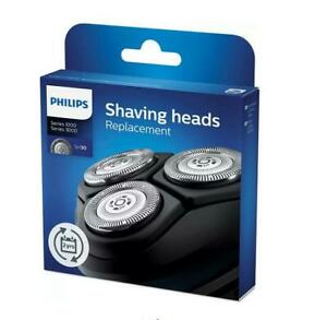 Genuine Philips Replacement Shaving Heads 1000 Series & 3000 Series SH30/50 New