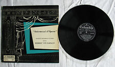 Herbert Von Karajan – Intermezzi d'Opera (Columbia QCX 10150) - LP