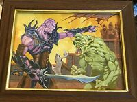 Original Magic the Gathering art By Mike Ploog Mogg Toady Painting