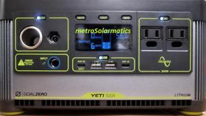 Goal Zero Yeti 500x Lithium Portable Power Station #GZ36100