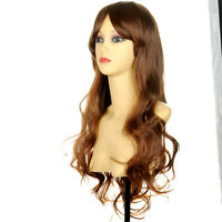 Hot Selling Sexy Women's Long Curly Wavy Wigs Brown Color Fashion Wig Hair