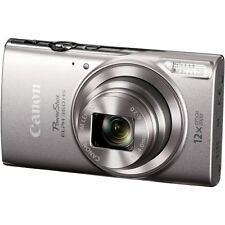 Canon PowerShot ELPH 360 HS Digital Camera (Silver) 1078C001