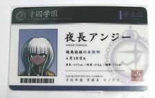 Danganronpa V3 Student Card Angie Yonaga Academy for Gifted Prisoner Namja