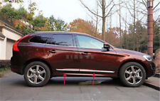 For Volvo Xc60 2014-2016 Chrome Auto Body Side Door Protector Board Molding Trim