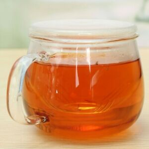 Glass Tea Cup Coffee Milk Cup with Tea Infuser Filter Lid Use for Home Teacup
